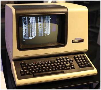 Il terminale VT 100 della Digital