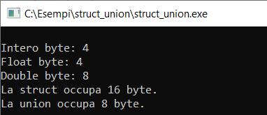 Struct union